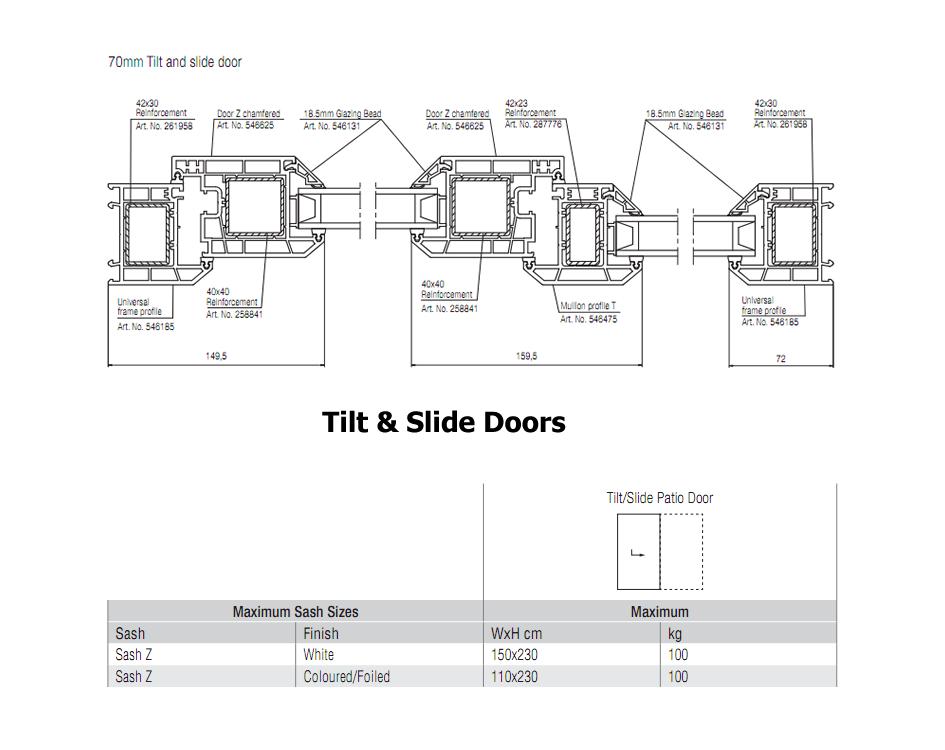 Tilt Amp Slide Doors Pvcu Tilt Amp Slide Doors